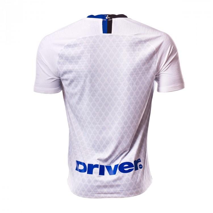 official photos ea8c1 92b8b Camiseta Vapor Inter Milán Segunda Equipación 2018-2019 White-Black