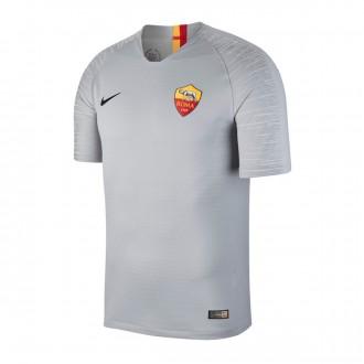 Camiseta  Nike Vapor AS Roma Segunda Equipación 2018-2019 Wolf grey-Black