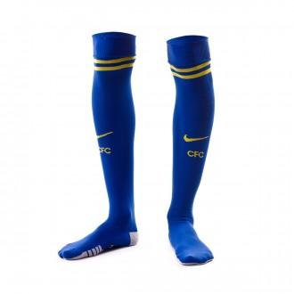 Football Socks  Nike Chelsea FC Stadium 2018-2019 Home Rush blue-Tour yellow