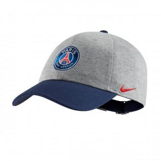 Boné  Nike Paris Saint-Germain Heritage86 2018-2019 Crianças Dark grey-Hrather-Challenge red