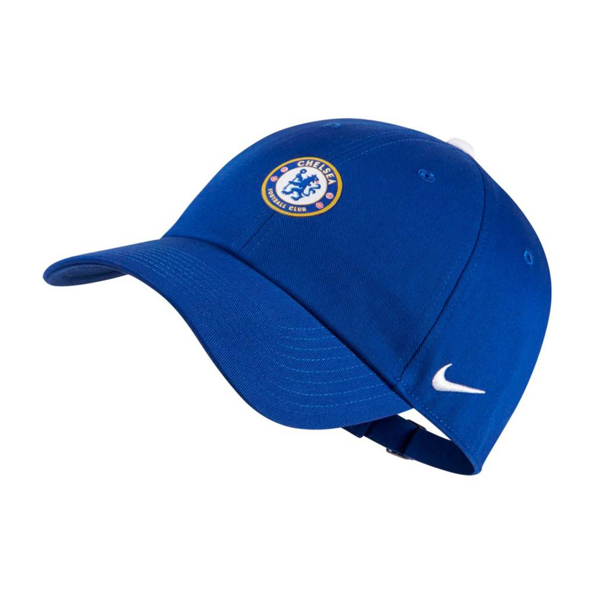Cap Nike Chelsea FC Heritage86 2018-2019 Rush blue-White - Football ... ad51550cb30a
