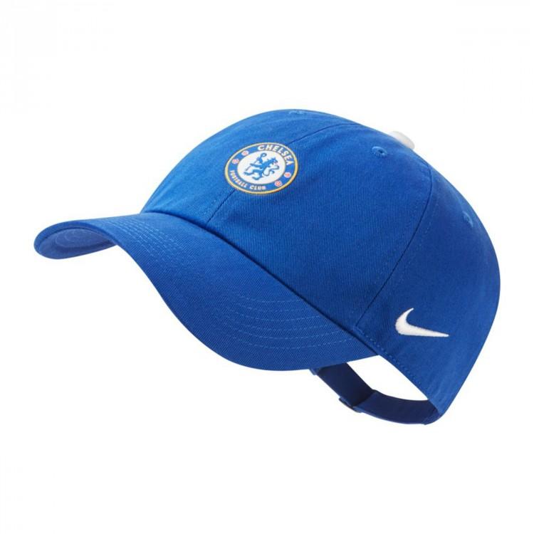 Gorra Nike Chelsea FC Heritage86 2018-2019 Niño Rush blue-Rush blue ... aae310e823f
