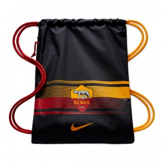 Mochila  Nike Gym Sack AS Roma Stadium 2018-2019 Black-Team crimson-University gold