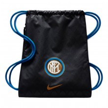 Zaino Gym Sack Inter Stadium 2018-2019 Black-Game royal-Truly gold