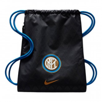 Backpack  Nike Gym Sack Inter Milan Stadium 2018-2019 Black-Game royal-Truly gold