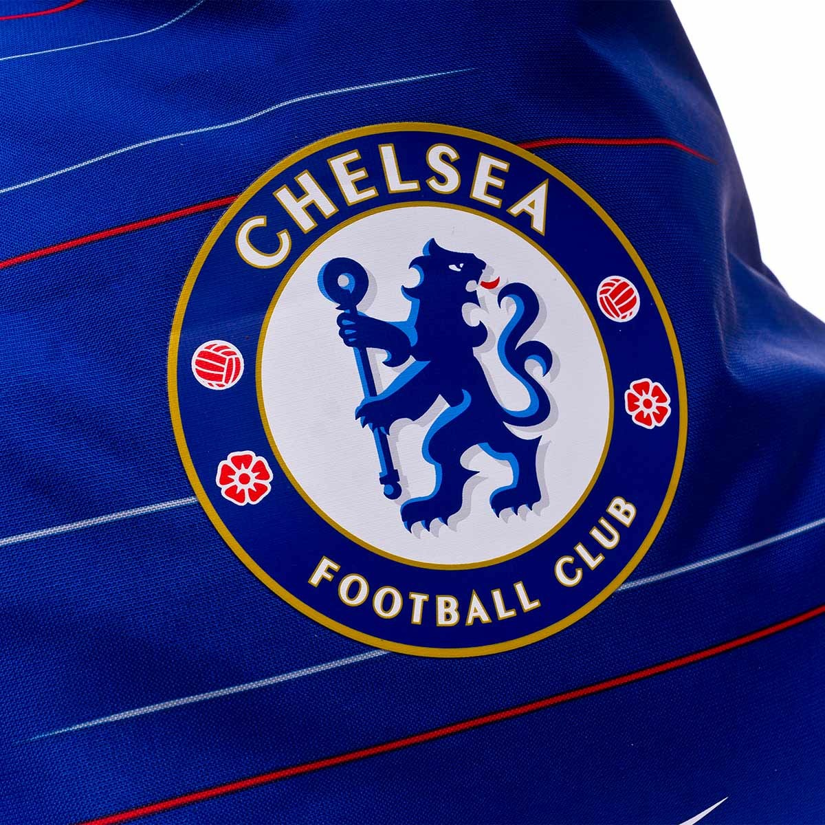 Mochila Chelsea Fc Stadium Football Gymsack Rush Blue White
