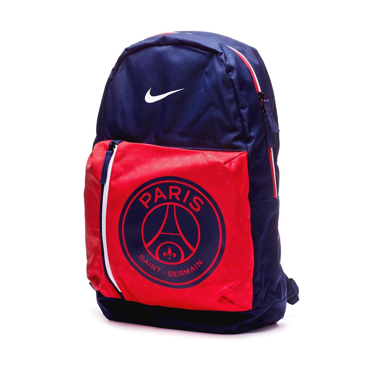 ... Mochila Paris Saint-Germain Stadium 2018-2019 Midnight navy-Challenge  red-White. CATEGORIA 6fead118f1175