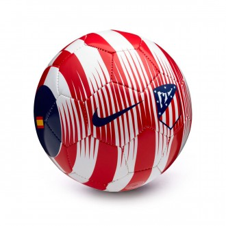 Balón  Nike Mini Atlético de Madrid Skills 2018-2019 White-Sport red-Deep royal blue