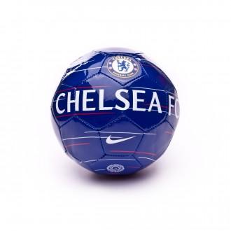 Ballon  Nike Mini Chelsea FC Skills 2018-2019 Rush blue-White