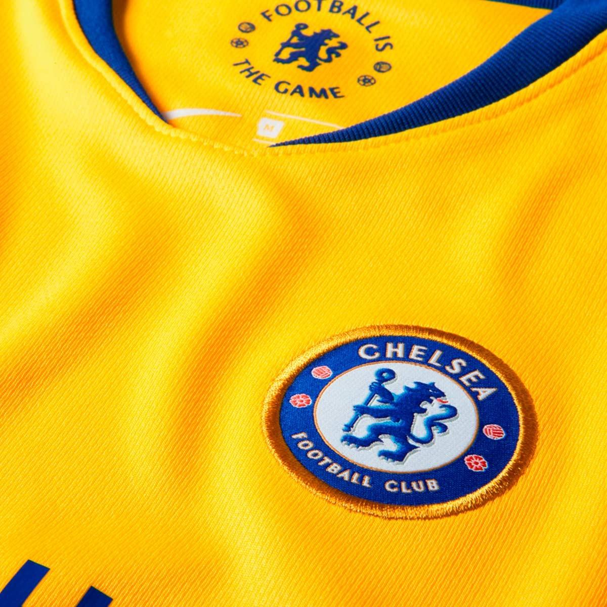 Conjunto Nike Chelsea FC Segunda Equipación 2018-2019 Niño Tour yellow-Rush  blue - Soloporteros es ahora Fútbol Emotion 8c3b6e8bffd91