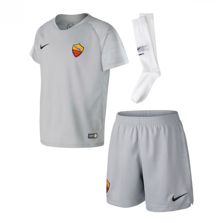 Nike 2018-2019 Away Leaked As Kit Soccer Wolf Kids Roma Grey-black - But Is It A Big Deal?