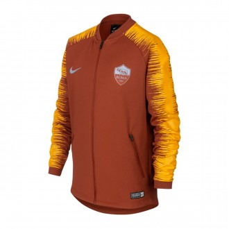 Chaqueta  Nike AS Roma 2018-2019 Niño Mars stone-University gold