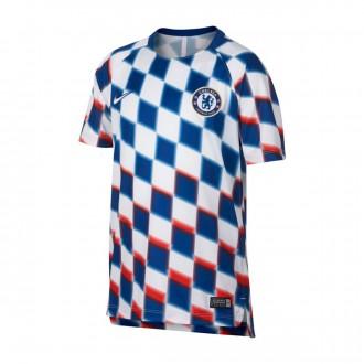 Jersey  Nike Kids Chelsea FC Squad 2018-2019  White-Rush blue-White