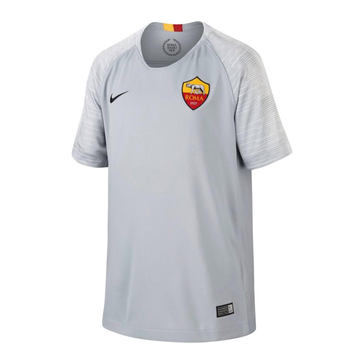 buy online 64023 06ce6 Camiseta AS Roma Stadium Segunda Equipación 2018-2019 Niño Wolf grey-Black