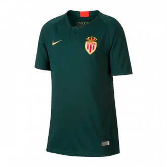 Jersey  Nike Kids AS Monaco Stadium 2018-2019 Away Pro green-Truly gold