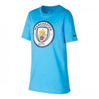 Camisola  Nike Manchester City FC 2018-2019 Crianças Field blue