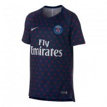 Camiseta Paris Saint-Germain Squad 2018-2019 Niño Midnight navy-White