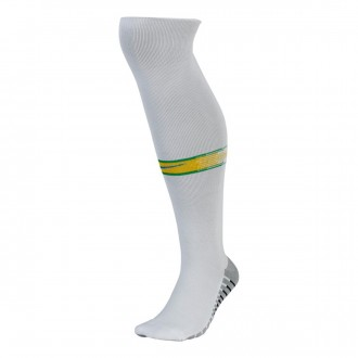 Football Socks  Nike Brazil Stadium OTC 2018-2019 Home Kit White-Soar