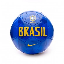 Bola de Futebol Nike Brasil Sport 2018-2019 Soar-Gold - Loja de ... a44ab257f4682