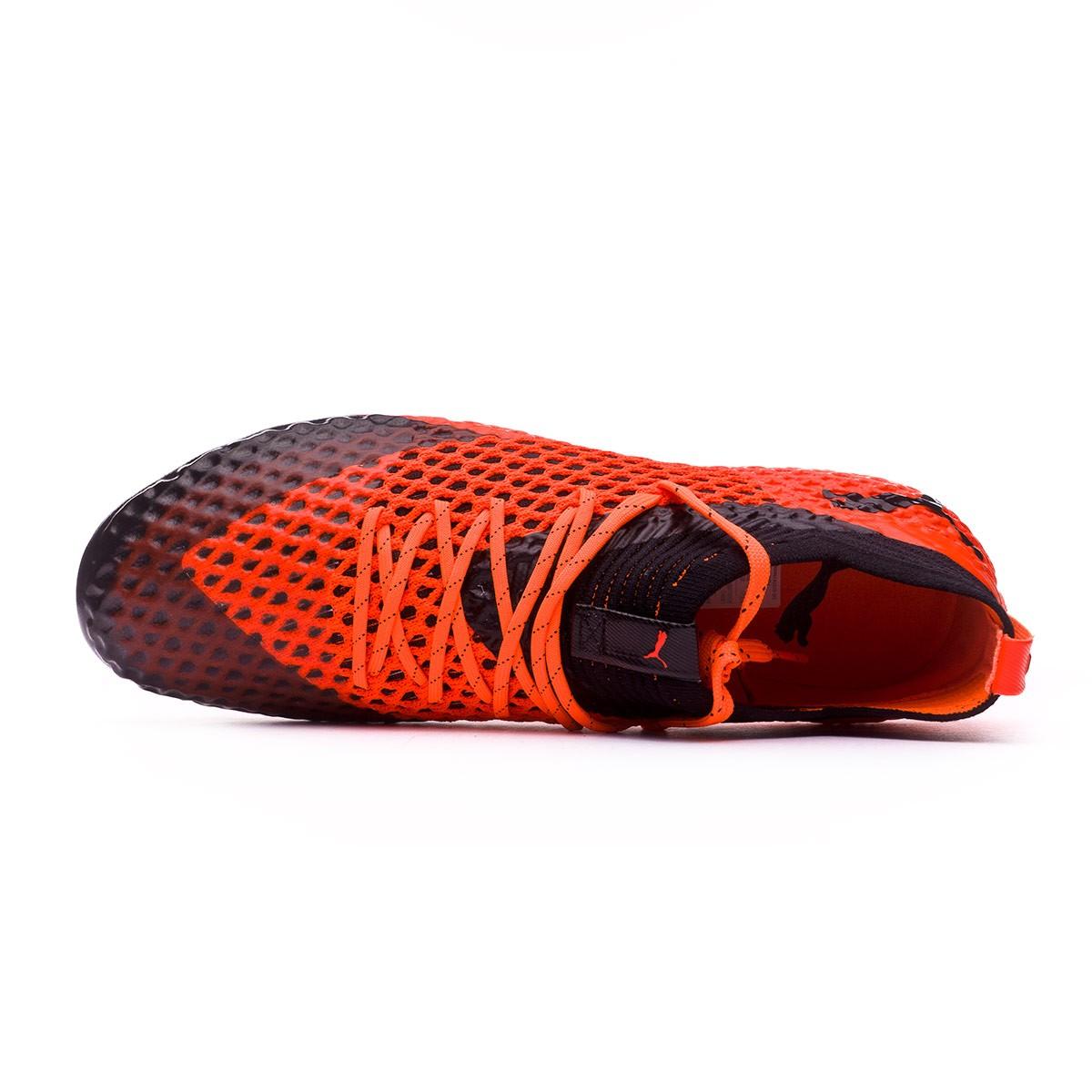 a63cfdc15 Football Boots Puma Future 2.1 Netfit FG/AG Puma black-Shocking orange -  Tienda de fútbol Fútbol Emotion