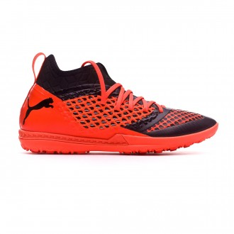 Zapatilla  Puma Future 2.3 Netfit TT Puma black-Shocking orange