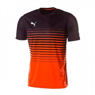 Jersey  Puma ftblPLAY Graphic Shocking orange-Puma black