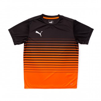 Jersey  Puma ftblPLAY Graphic Niño Shocking orange-Puma black