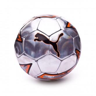 Ball  Puma One Laser Silver-Shocking orange-Puma black