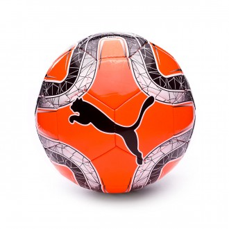 Balón  Puma Final 6 MS Trainer Shocking orange-Puma black-Silver