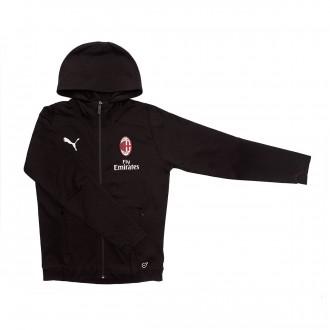 Sweatshirt  Puma AC Milan Casual 2018-2019 Niño Puma black-Puma white