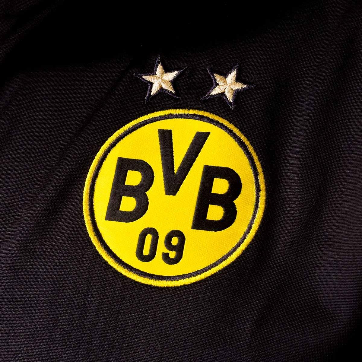 Jacket Puma BVB Borussia Dortmund Stadium Logo 2018-2019 Puma black -  Football store Fútbol Emotion ffd969e86