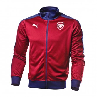 Jacket  Puma Arsenal FC Fan 2018-2019 Pomegranate-Peacoat