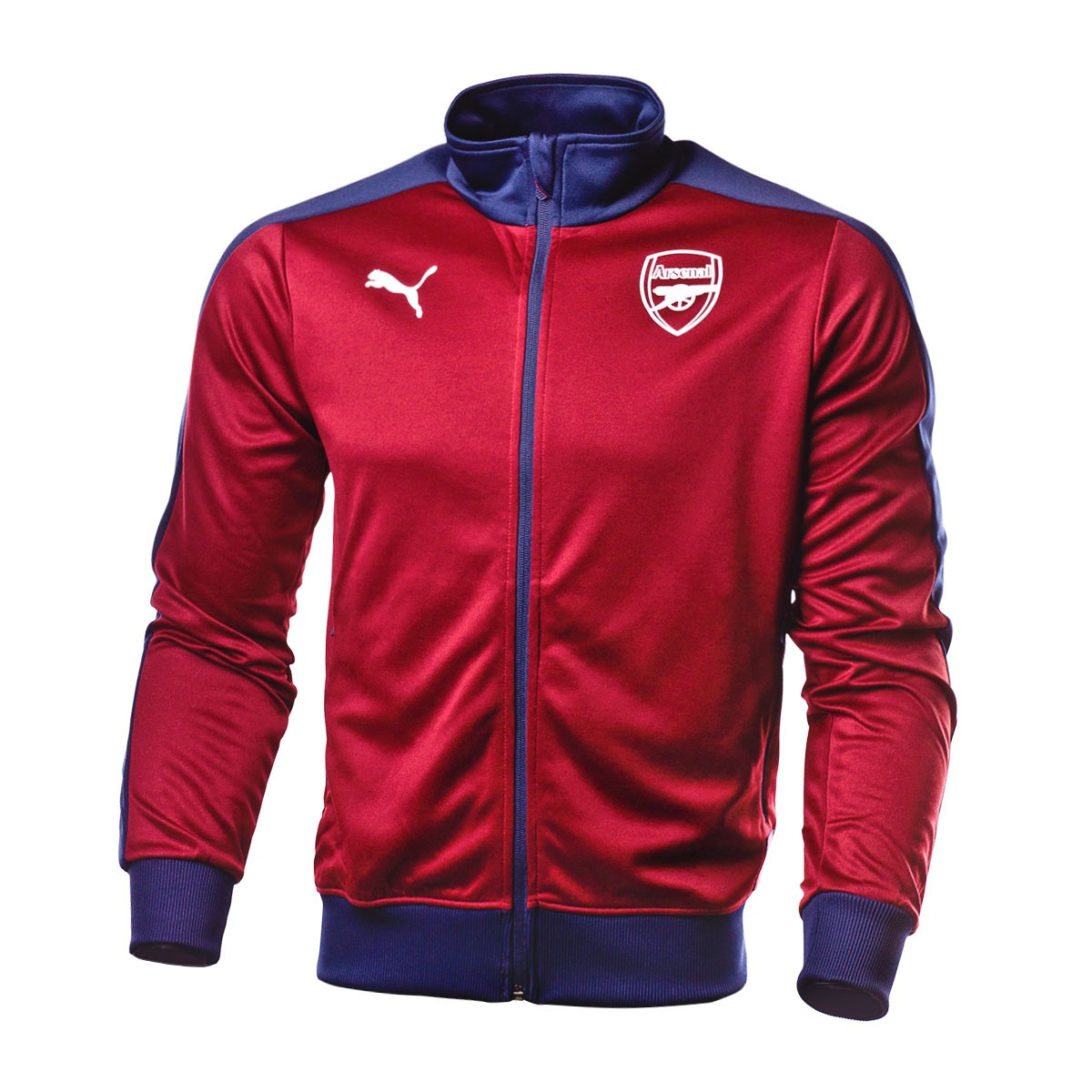 2579044c7d39 Jacket Puma Arsenal FC Fan 2018-2019 Pomegranate-Peacoat - Tienda de fútbol  Fútbol Emotion