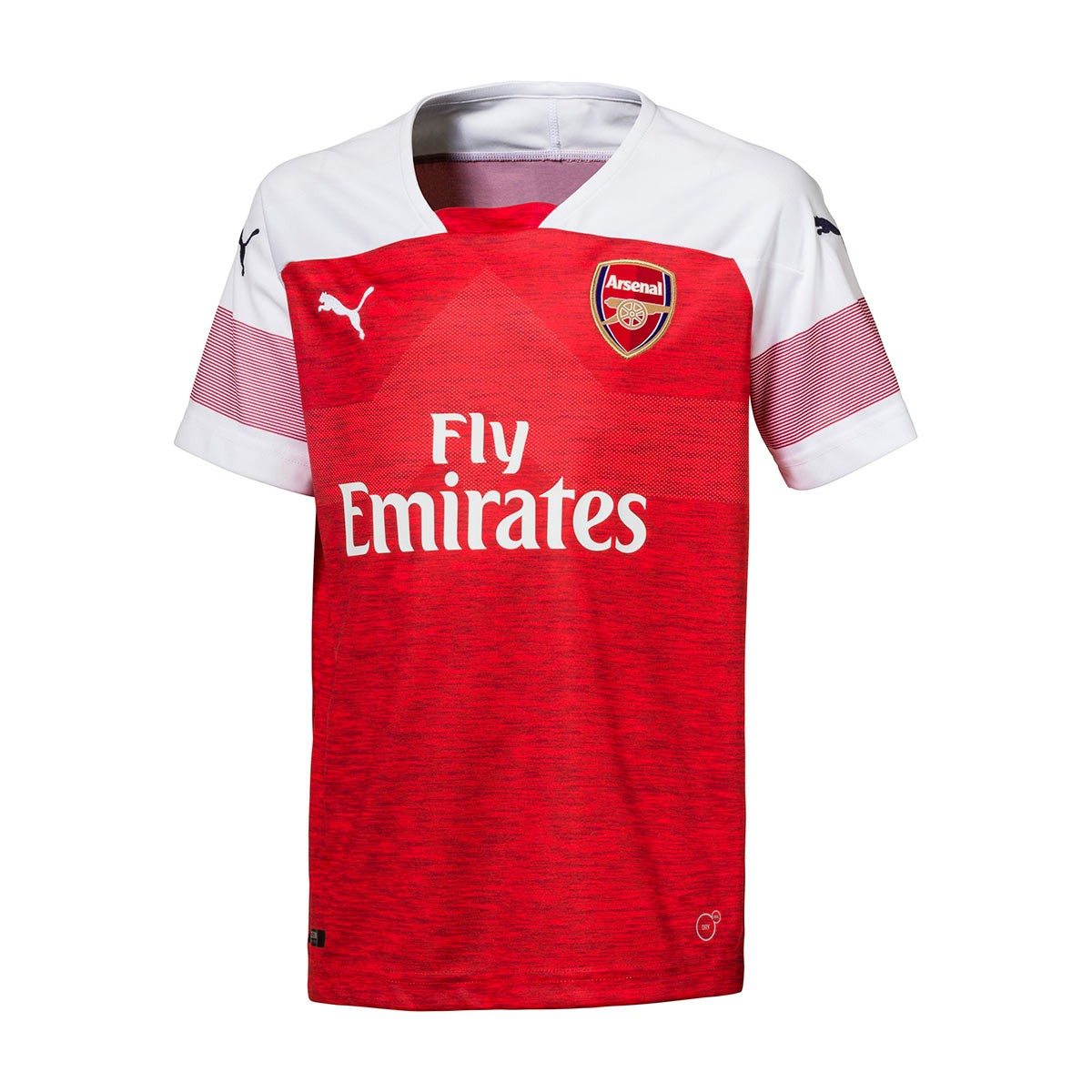 e04347419 Jersey Puma Kids Arsenal FC EPL 2018-2019 Home Chili pepper heather-White-Chili  pepper - Football store Fútbol Emotion