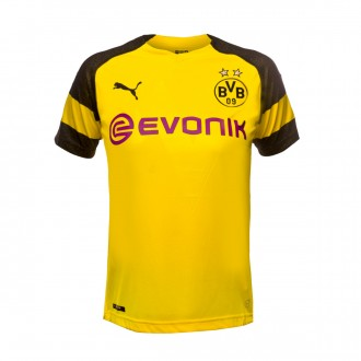 Maglia Puma BVB Opel Evonik Home 2018-2019 Junior Cyber yellow