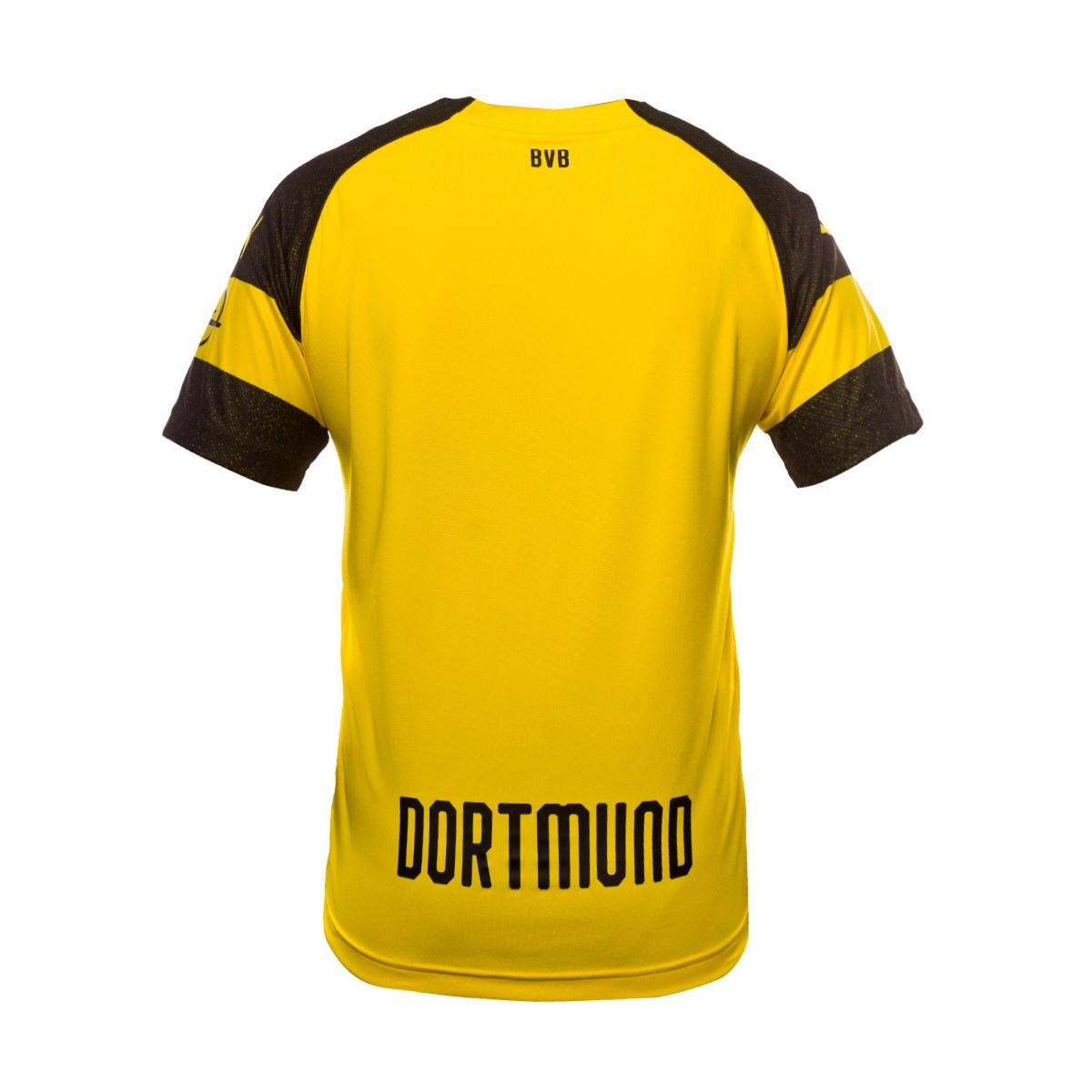 d2642d94b Jersey Puma Kids BVB Opel Evonik 2018-2019 Home Cyber yellow - Football  store Fútbol Emotion
