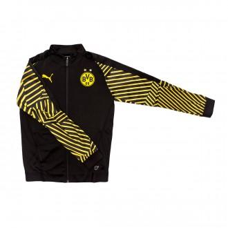 Chaqueta  Puma BVB Borussia Dortmund Stadium Logo 2018-2019 Niño Puma black