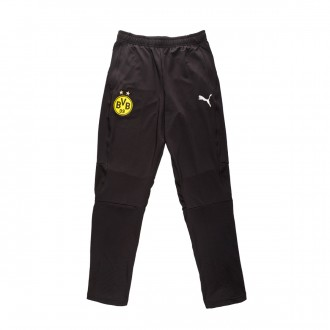 Long pants   Puma BVB Borussia Dortmund Training 2018-2019 Niño Puma black