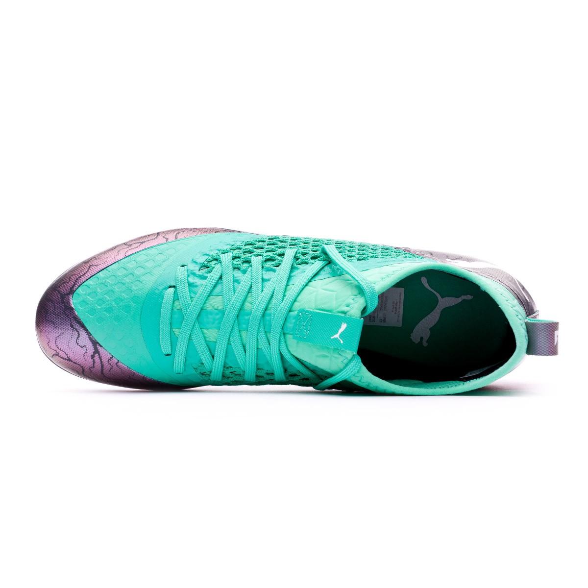 2354def7d Football Boots Puma Future 2.3 Netfit MG Shift-Biscay green-Puma white -  Football store Fútbol Emotion