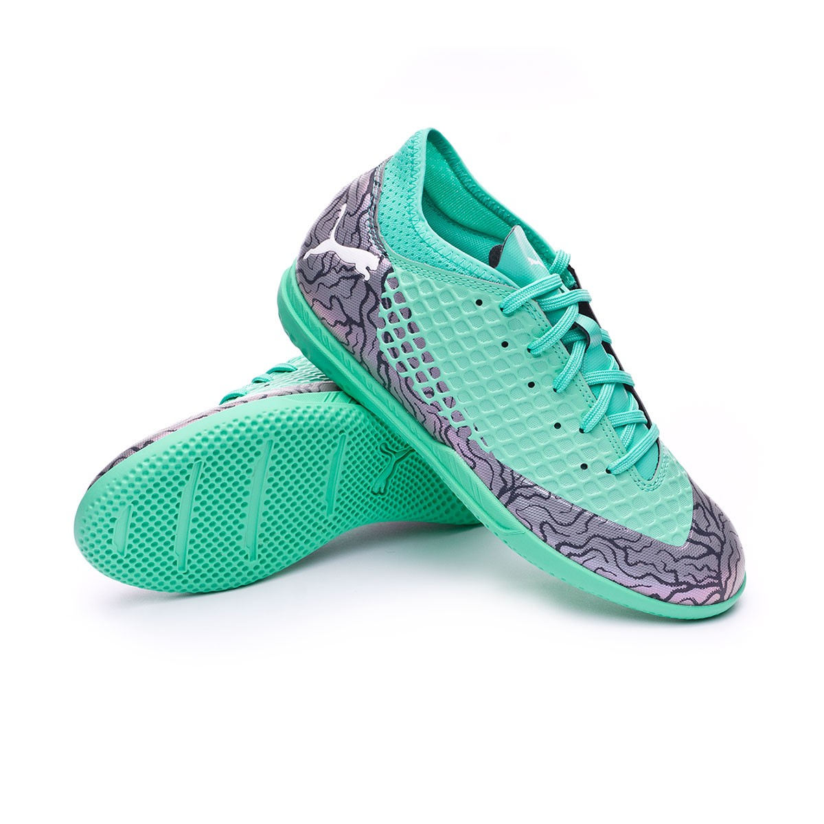 c11781ed4 Zapatilla Puma Future 2.4 IT Niño Shift-Biscay green-Puma white - Tienda de fútbol  Fútbol Emotion