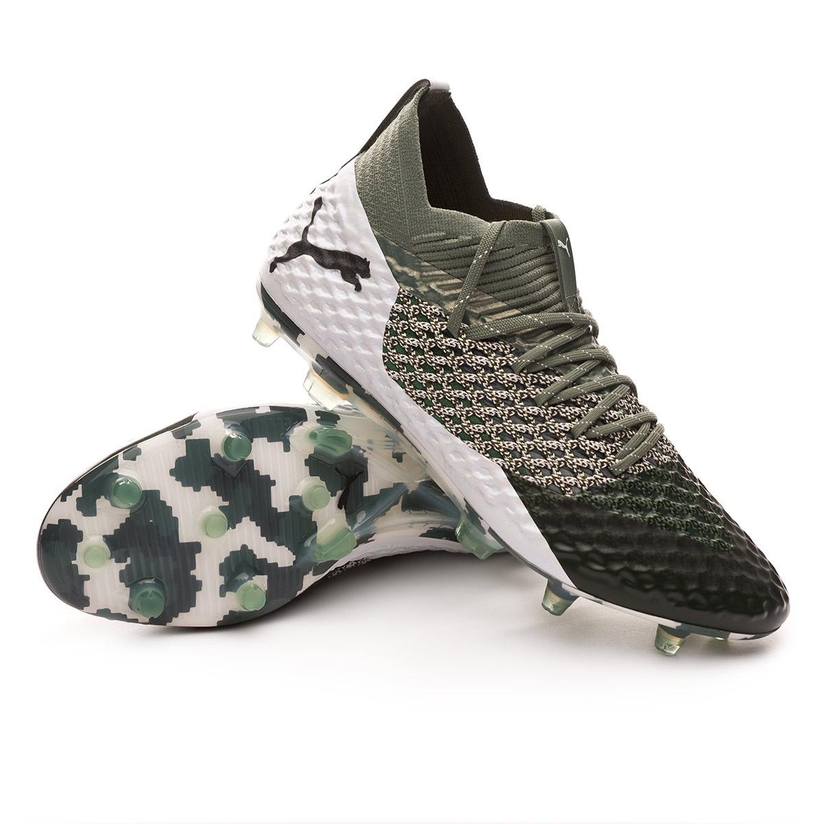 san francisco 1cb33 7d608 Chaussure de foot Puma Future 2.1 Netfit FG AG Camo - Boutique de football  Fútbol Emotion