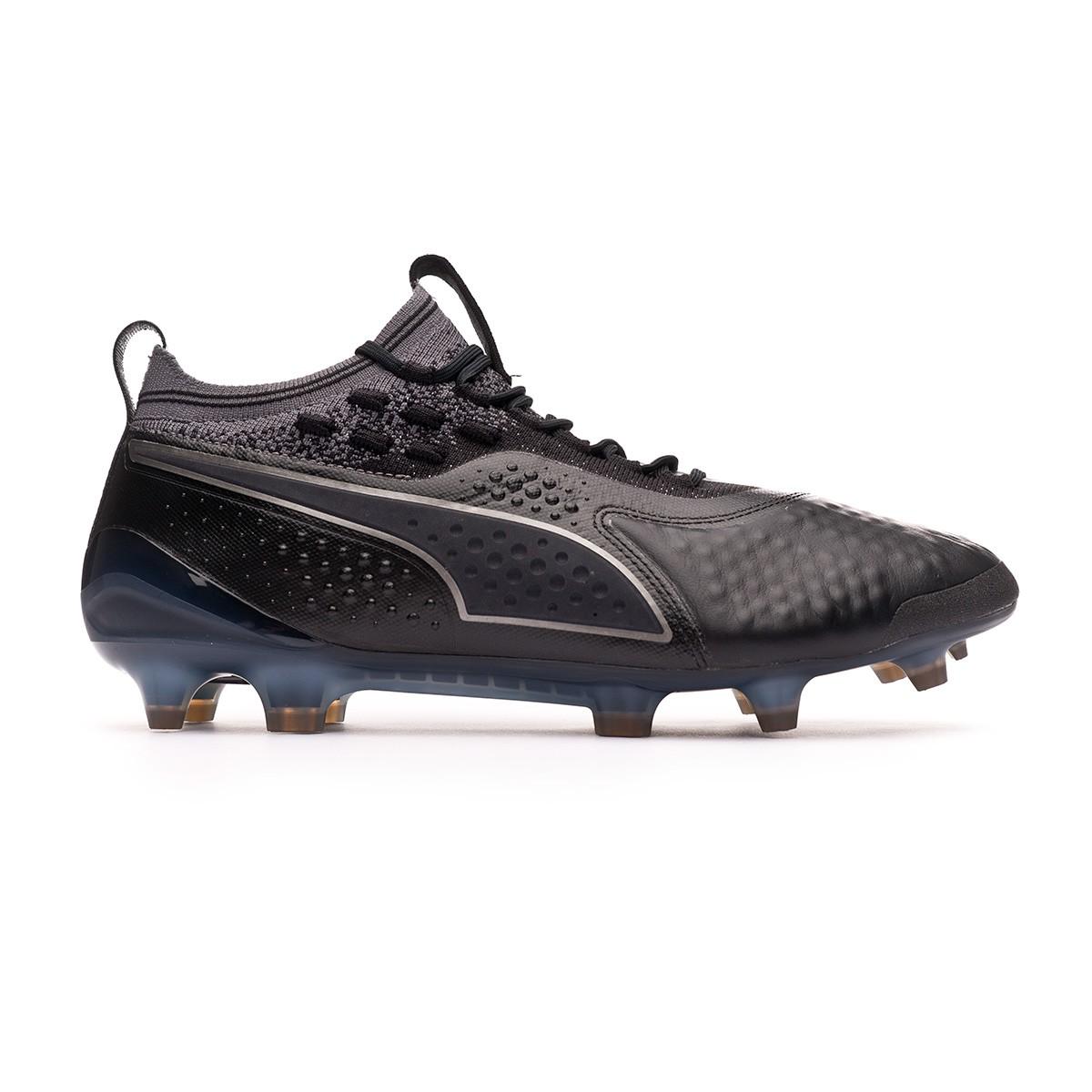 7ee84e515406 Football Boots Puma One 1 Skin FG AG Puma black - Football store Fútbol  Emotion