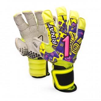Glove  Rinat Asimetrik Etnik OXPro Volt-Purple-Pink