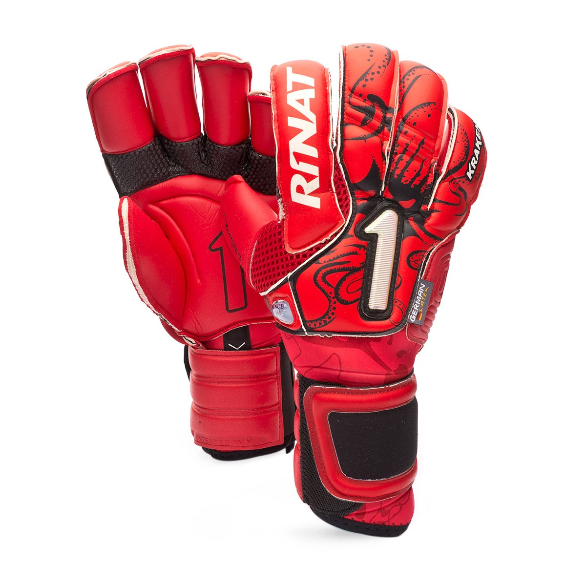 6d823e79c3d Glove Rinat Kraken NRG Neo Pro Red - Football store Fútbol Emotion