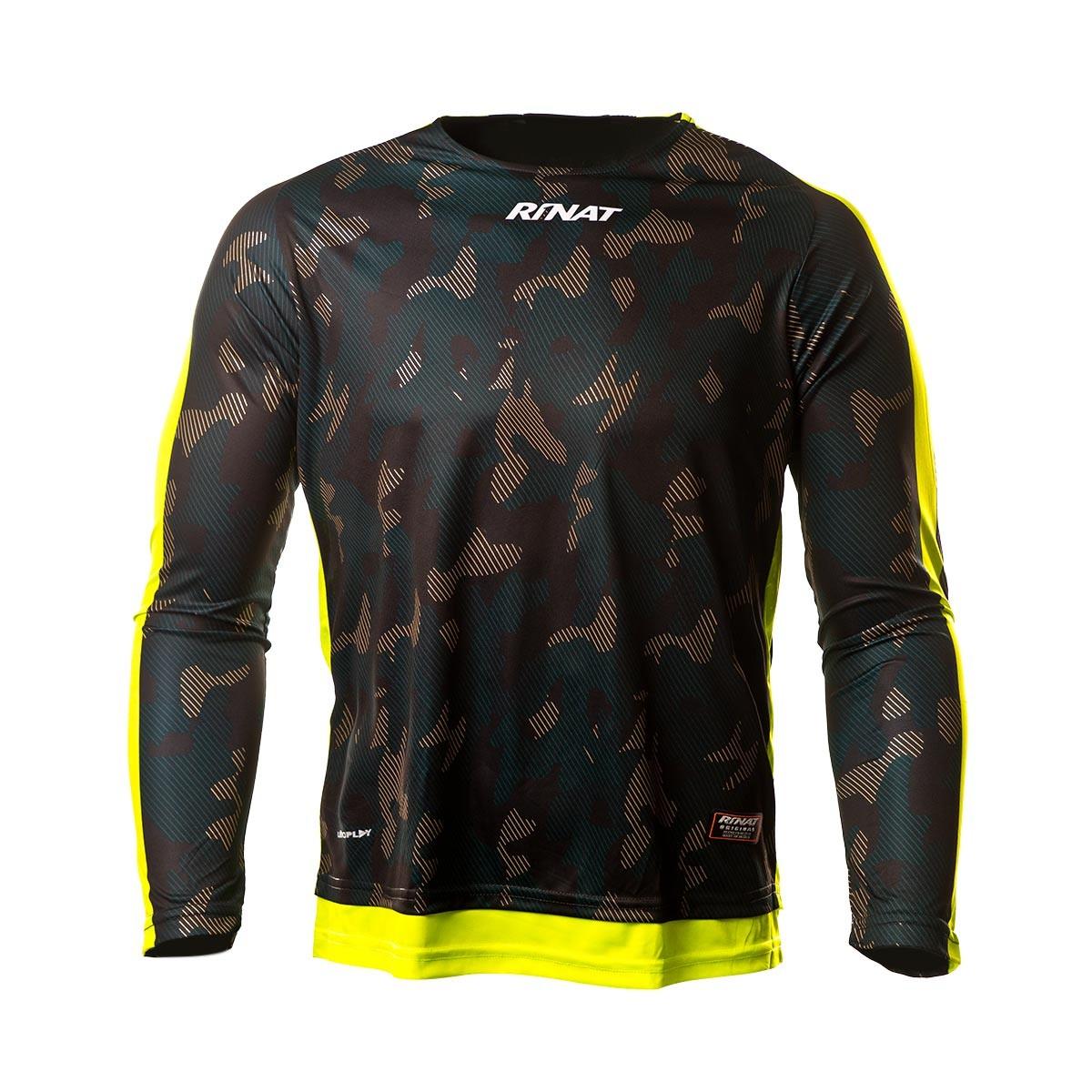 32cf875b9e5 Jersey Rinat Sniper Black-Yellow - Football store Fútbol Emotion