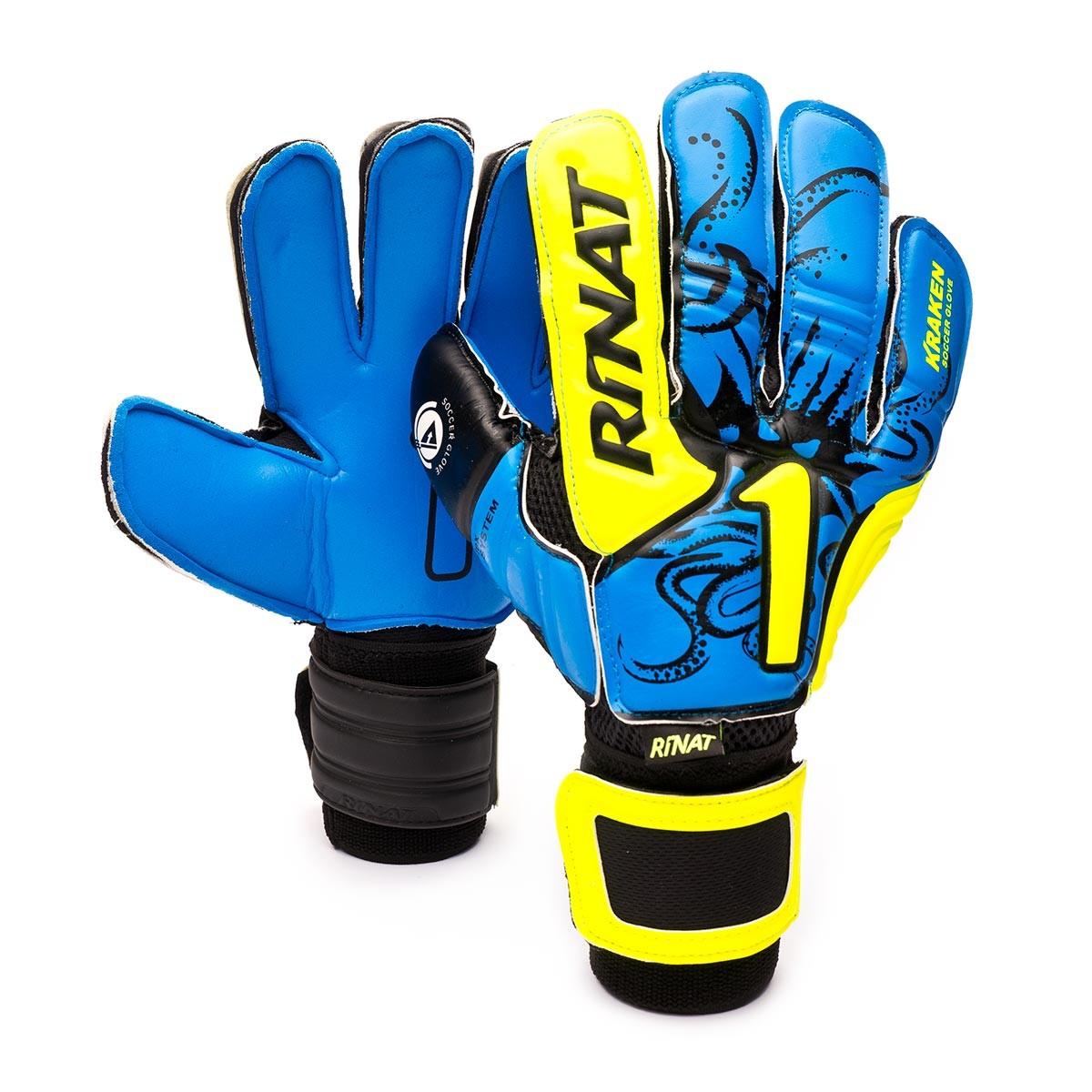 4df3be25d Glove Rinat Kraken NRG Neo Semi Blue-Black - Football store Fútbol Emotion