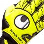 Guante Supersoft Bionik Amarillo fluor-Negro-Blanco