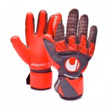 Guante Aerored Absolutgrip Reflex Dark grey-Fluor red