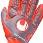 Guante Aerored Soft Pro Dark grey-Fluor red