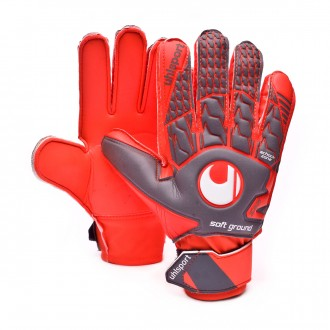 Luvas  Uhlsport Aerored Soft Advanced Cinza-Laranja